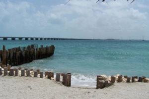 Playa Caracol en Campeche