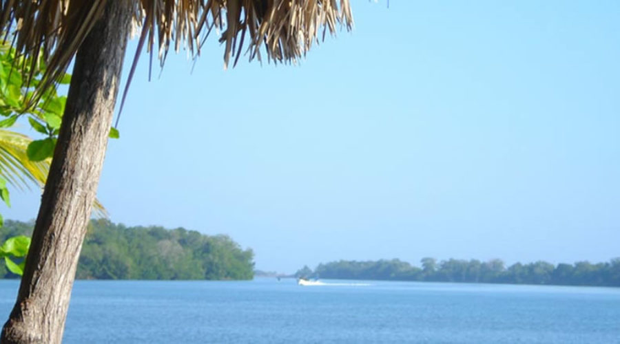 Playa Chocohuital en Chiapas