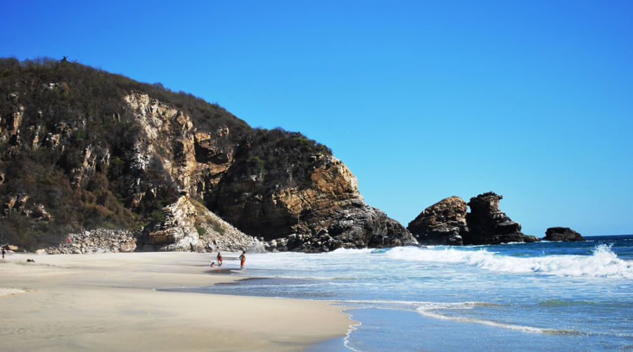 Playa Ventanilla en Oaxaca
