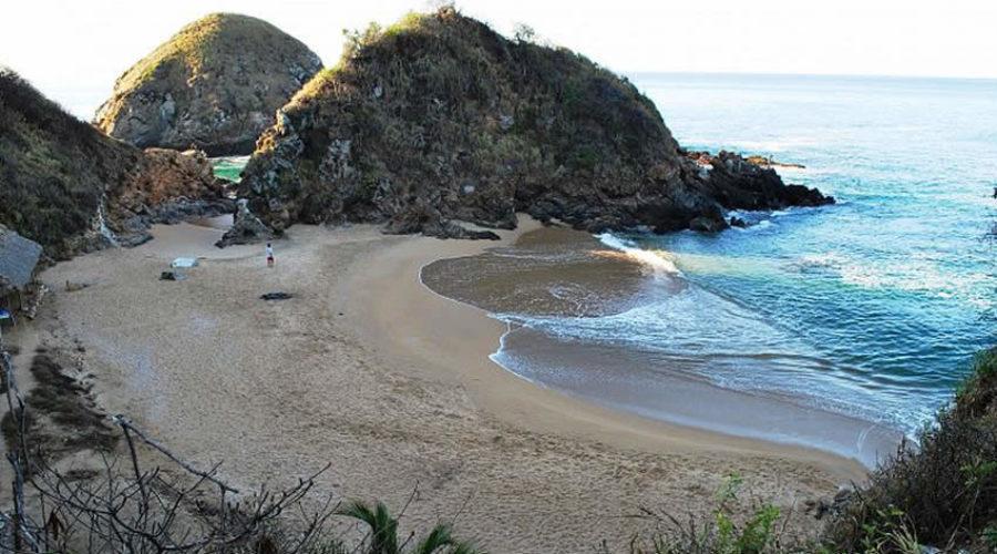 Playa del Amor en Oaxaca