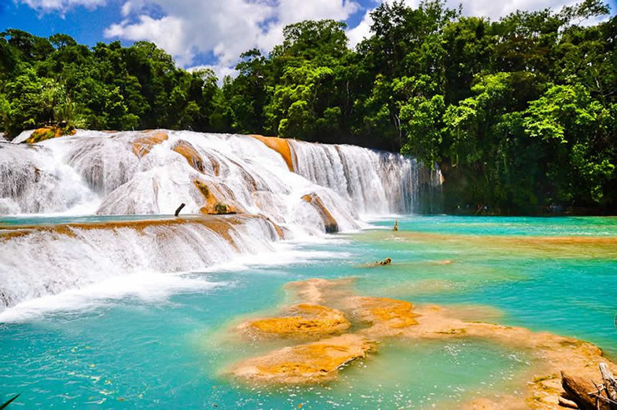 Reservas y Áreas Naturales en el estado de Chiapas