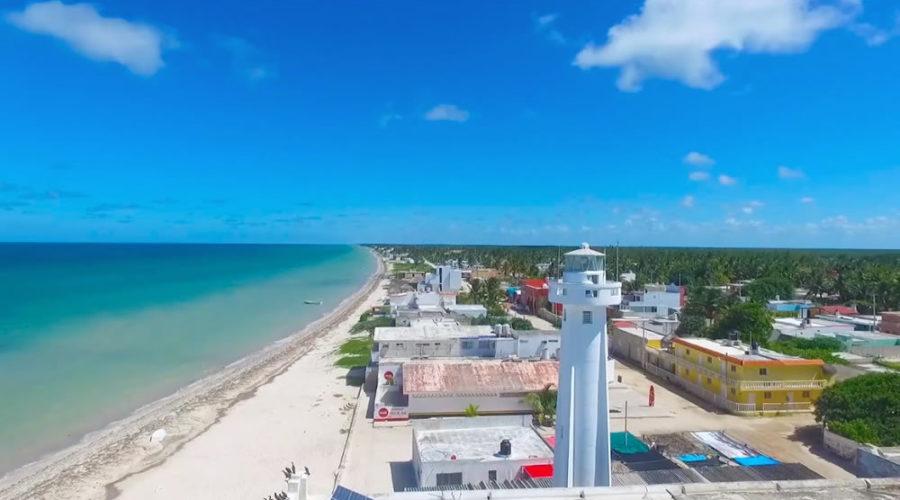 Telchac Puerto en Yucatán