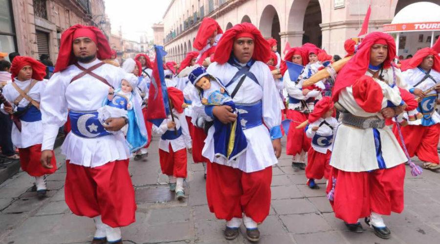 Conoce las tradicionales Morismas de Bracho en Zacatecas