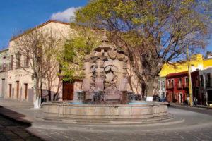 Fuente de los Fundadores en Zacatecas