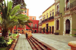 Jardín Juárez en Zacatecas