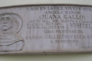 La Historia de Juana Gallo