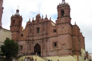 Plaza y Templo de Santo Domingo en Zacatecas