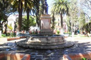 Alameda y Jardín de la Madre en Zacatecas