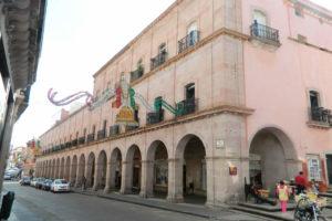 El Portal de Rosales en Zacatecas