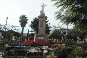 Jardín Independencia y Casa de la Cultura en Zacatecas
