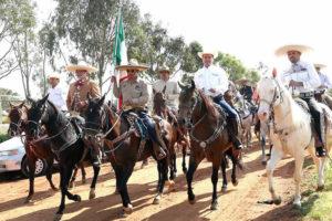 La Cabalgata Turística Revolucionaria en Zacatecas