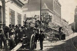 La Explosión del Palacio Federal en la Toma de Zacatecas