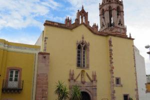 Templo y Plazuela de San Juan de Dios en Zacatecas