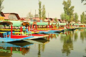 Embarcadero de Cuemanco en Xochimilco