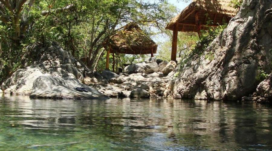 Manantiales de Zacualpan en Colima