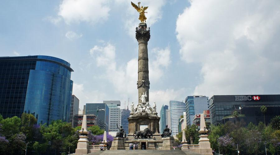 Monumento a la Independencia en la Ciudad de México