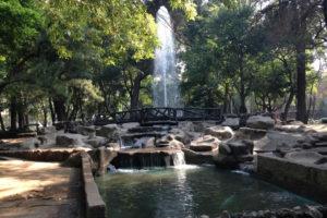 Parque México en la Ciudad de México