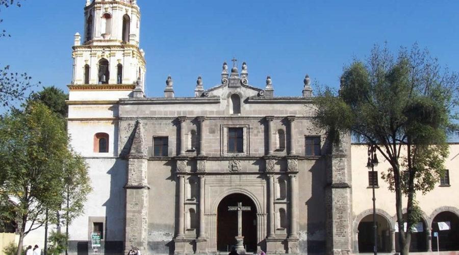 Parroquia de San Juan Bautista en Coyoacán, CDMX