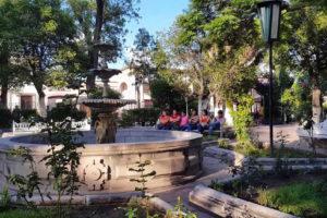 Recorriendo del Jardín Rafael Páez al Santuario de la Soledad en Jerez