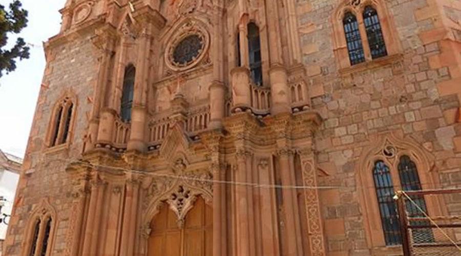 Templo de Nuestra Señora de Guadalupe o Guadalupito en Zacatecas