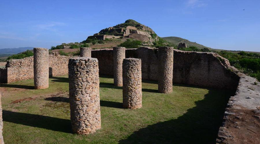 Zona Arqueológica La Quemada en Zacatecas