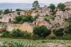 Mineral de Pozos en Guanajuato